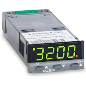 Cal 3200 1/32nd Din Panel Mount Temperature Controller