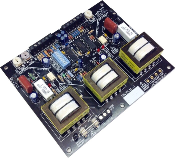 High Power SCR Gate Driver Board inductive loads